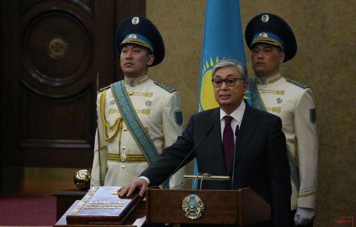 Новый президент Казахстана Токаев принёс присягу (видео)