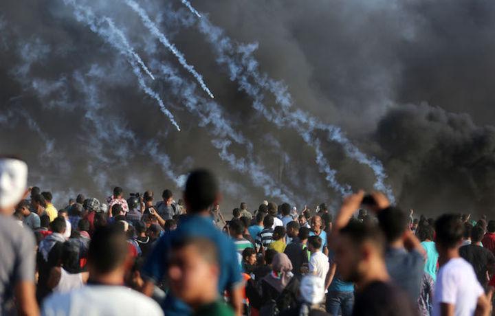 ХАМАС устроил мощную ракетную атаку на Израиль