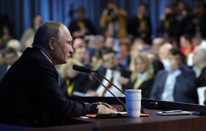 Путин ответил на 61 вопрос