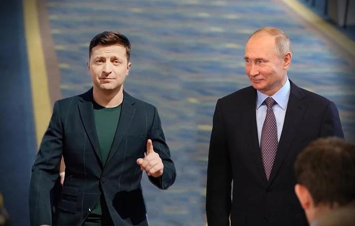Путин и Зеленский поговорили наедине без переводчиков