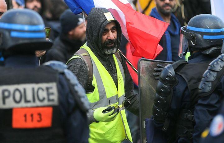 Полиция задержала 126 человек на акциях «жёлтых жилетов»