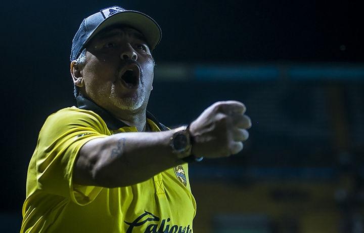 Марадона намерился разоблачать «не уважающую его» ФИФА