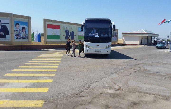 Ўзбекистон ва Тожикистоннинг учта шаҳри ўртасида халқаро автобус йўналишлари очилди