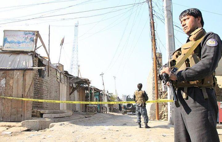 Теракт на севере Афганистана, 7 погибших