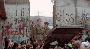 Берлин девори. 1989 йил.