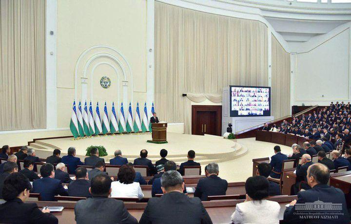 Шавкат Мирзиёев: «Энди вазирлар Олий Мажлис томонидан тасдиқланади»