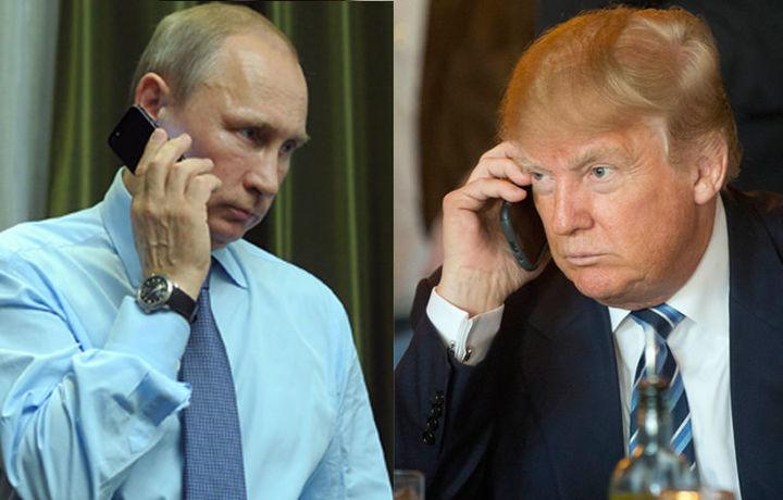 Путин поздравил Трампа с днем рождения