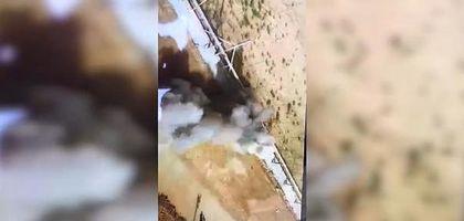 Израильский танк открыл огонь по палестинцам (видео)