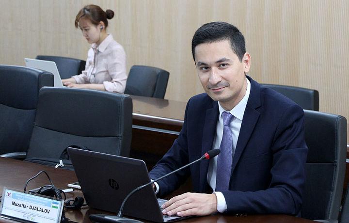 Ўзбек олимининг диссертация иши натижалари Кореянинг GEO2 компаниясида жорий этилди