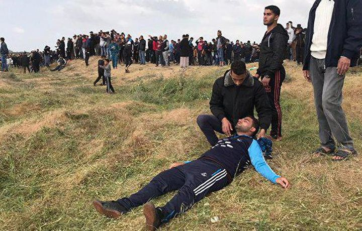Трое палестинцев погибли в стычках с израильскими военными