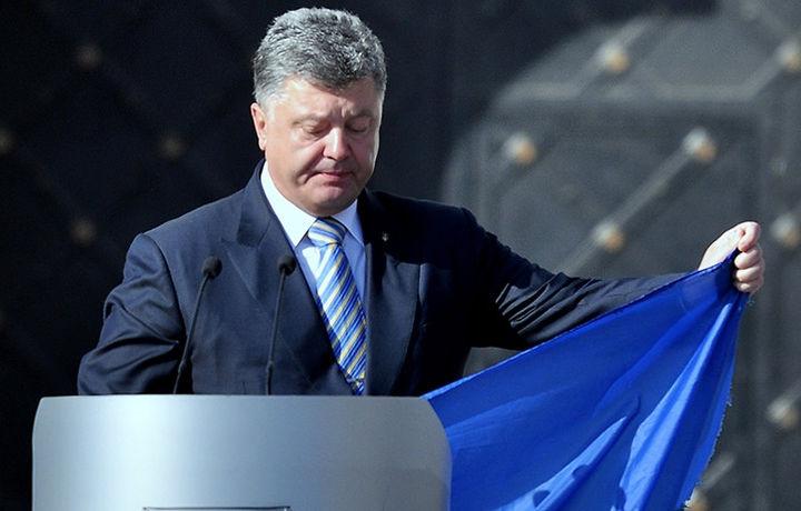 Порошенко поднимет флаг Украины над Донецком (видео)