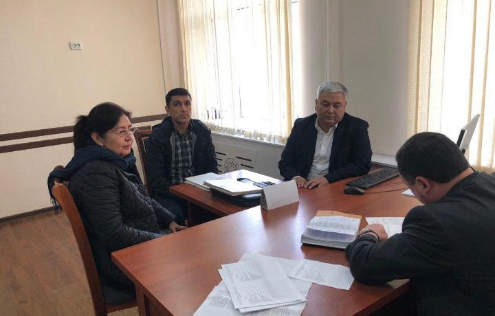 Олий суд раҳбарияти Тошкент вилоятида сайёр қабуллар ташкил этди