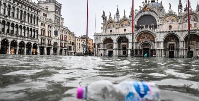Новое наводнение ожидается в Венеции