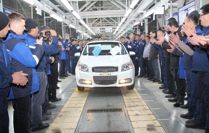 «GM Uzbekistan» декабрь ойида рекорд қайд этди