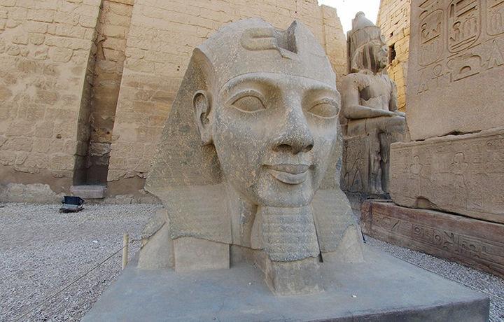 Имя создателя зала для фараона Рамзеса назвали археологи