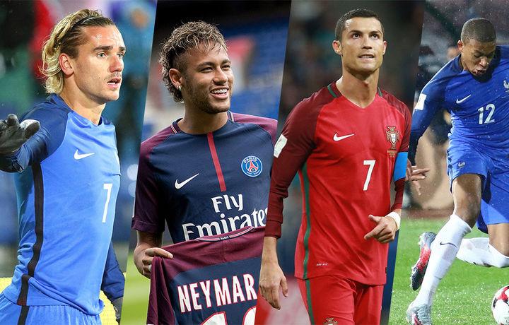 10 самых дорогих игроков чемпионат мира по футболу-2018