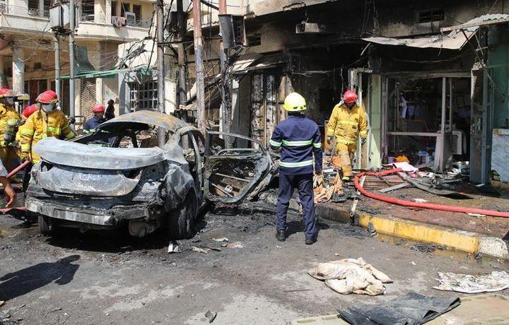 Теракт в Ираке, 7 погибших