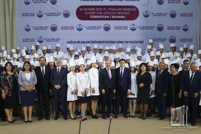 Turkiyaning yetakchi universiteti Buxoroda o'z fakultetini ochdi