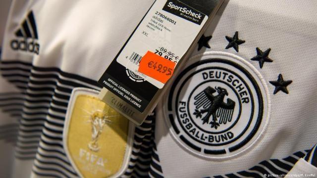 Германия терма жамоаси футболкалари икки карра арзонлашди