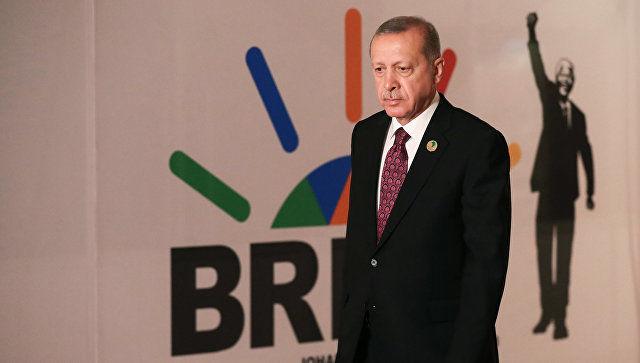 Эрдоган попросил принять Турцию в БРИКС