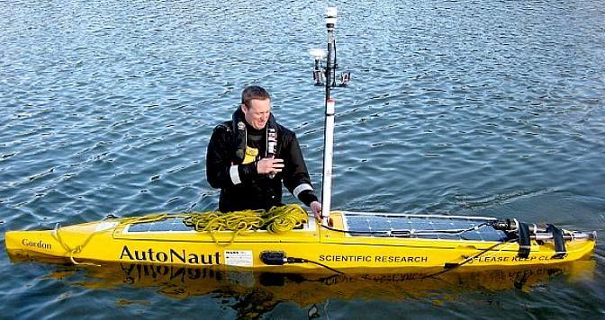 Навбат дрон кемаларга. Улар океанни мониторинг қилади