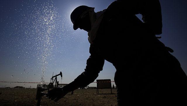 Мингбулоқда биринчи нефть қазиб олинди