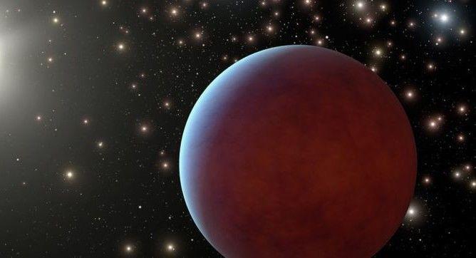 Астрономы нашли абсолютно черную планету