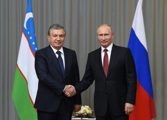 Шавкат Мирзиёев поздравил Владимира Путина