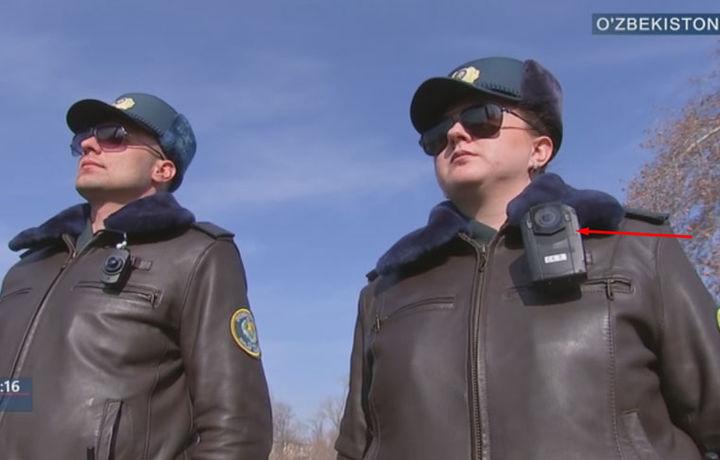 Шавкат Мирзиёев ИИВ тизимига олинган замонавий камера билан танишди (видео)