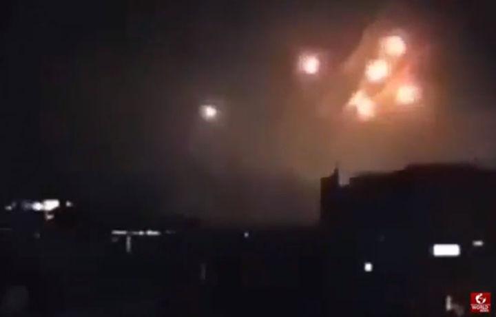 Эрон ва Исроил бир-бирини бомбардимон қилди, жабрланган Сурия (видео)