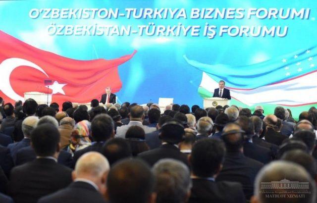 Ўзбекистон – Туркия бизнес-форумида умумий қиймати 3 миллиард долларга тенг битимлар имзоланди