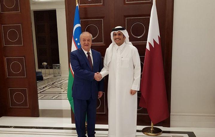 Делегация Узбекистана посетила Доху