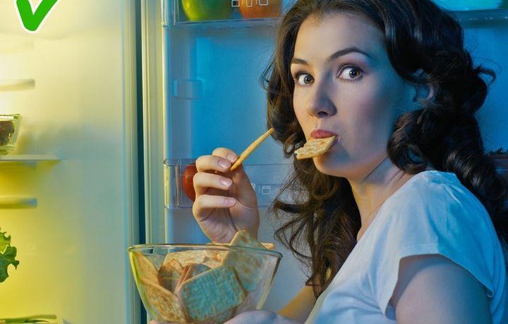 9 безопасных продуктов, которые можно есть даже ночью