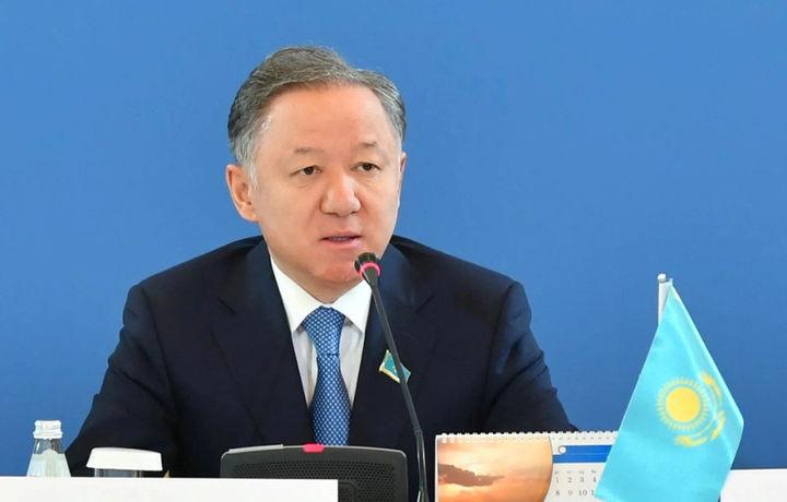 Қозоғистон Парламенти Мажлиси раиси Ўзбекистонга ташриф буюрди