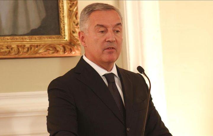 Черногория президенти қасамёд қилди