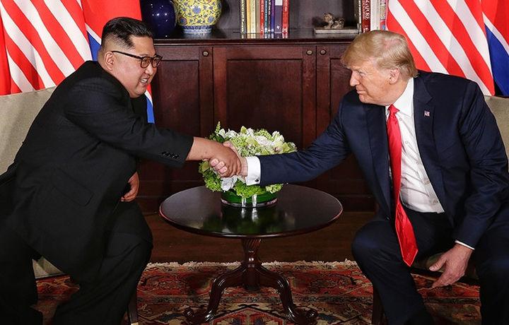 Трамп объявил о встрече с лидером КНДР