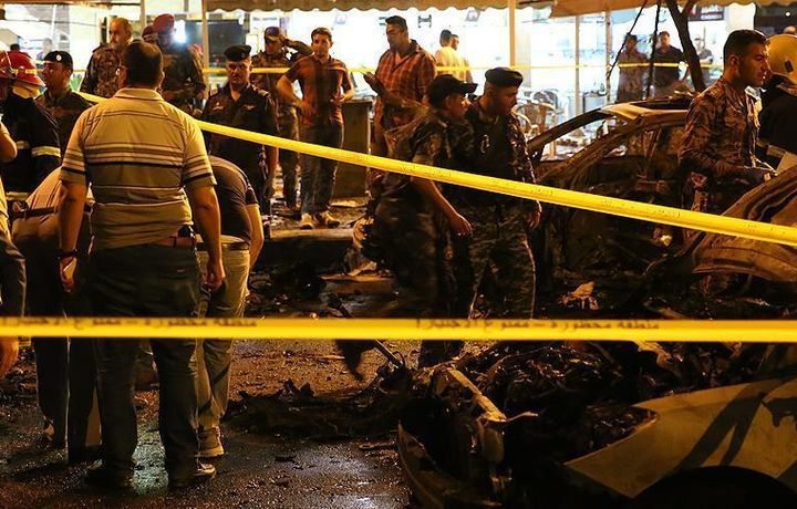 Теракт в Багдаде, 8 погибших