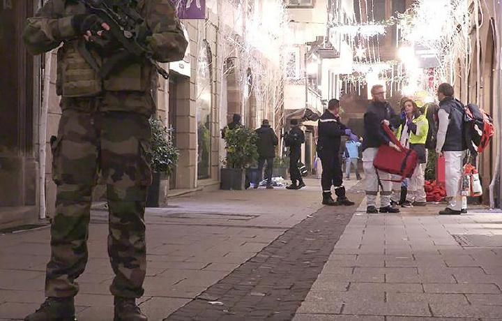 Турист из Таиланда погиб после атаки в Страсбурге