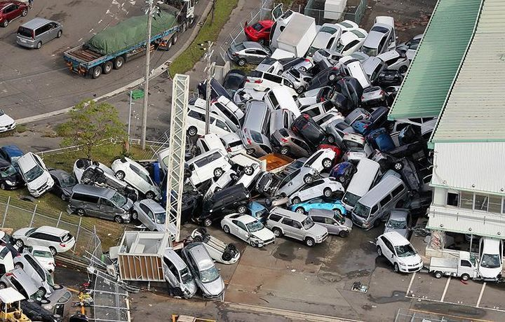 Число погибших от тайфуна в Японии выросло до 11