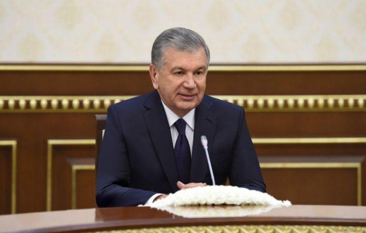Шавкат Мирзиёев ОИИБ президентини қабул қилди