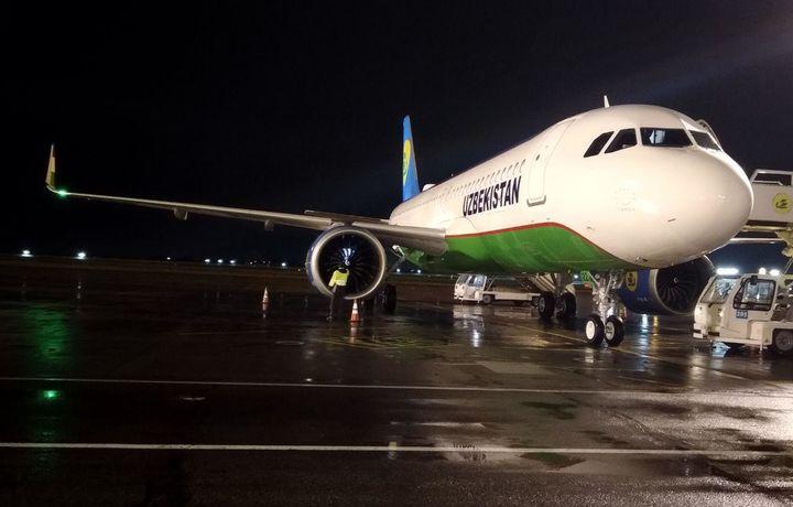 Второй Airbus А320neo «Узбекистон хаво йуллари» прибыл в Узбекистан (фото)
