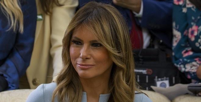 Мелания Трамп опозорилась из-за ножниц