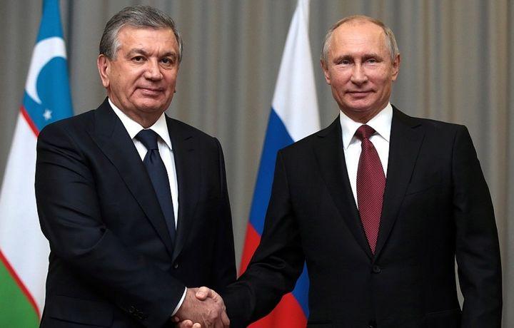 Владимир Путин Ўзбекистонга давлат ташрифи билан келади