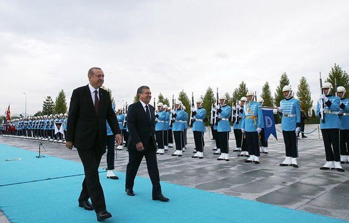 2019 йилда Мирзиёев ва Эрдўғон учрашади