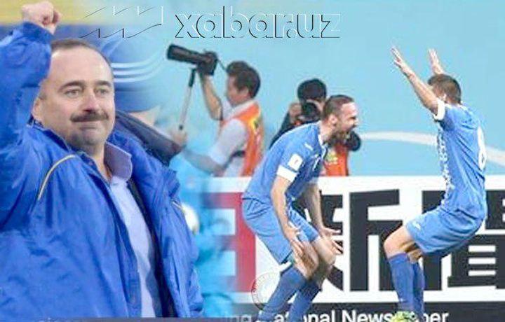 Пожизненно отстраненный от футбола Самвел Бабаян начал работу в «Локомотиве»
