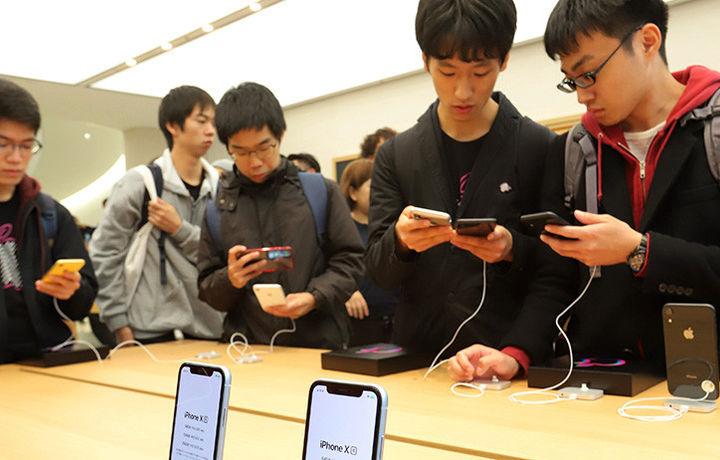 Apple пытается обойти запрет на продажу iPhone в Китае