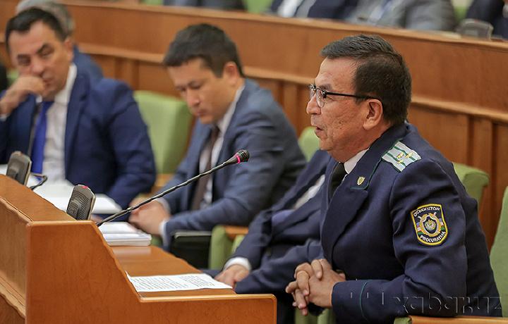 Бош прокурор ўринбосари: «Коррупционер қайси лавозимда бўлсаям жазосини олади»