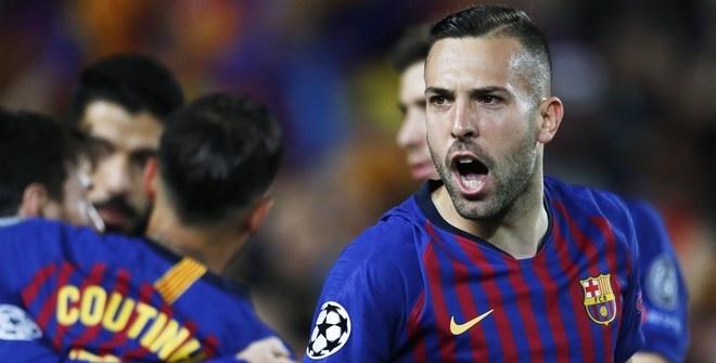 Футболист «Барселоны» Жорди Альба выбыл из-за травмы