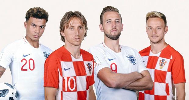 ЖЧ-2018. Англия – Хорватия. Бугунги ўйин анонси
