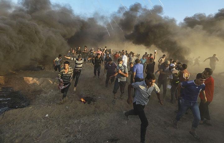 Палестинцы погибли в столкновениях с Израилем